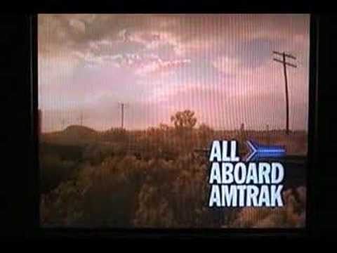 Vintage Amtrak TV Commercials