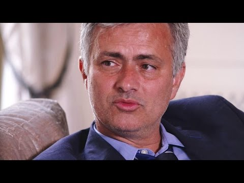 Jose Mourinho Premiership Winning Interview - Sir Alex Has Set The Bar Too High