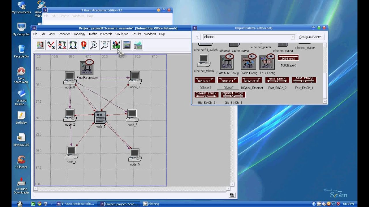Simulation master thesis