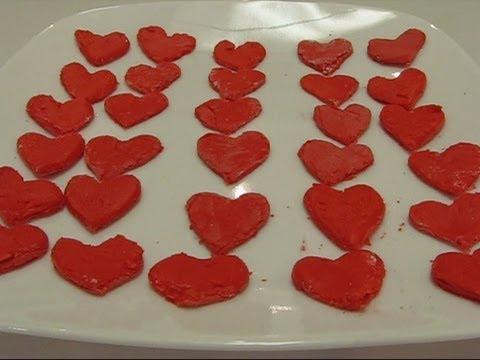 Betty's Easy Faux Fondant Valentine Hearts