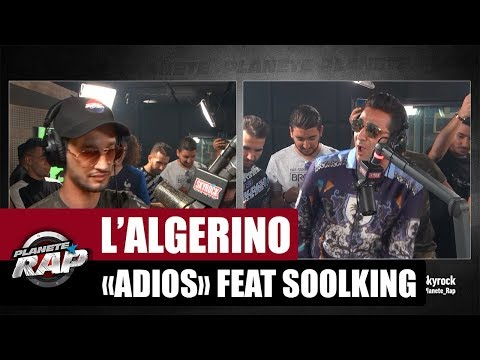 "L'Algérino ""Adios"" Feat. Soolking #PlanèteRap thumbnail"