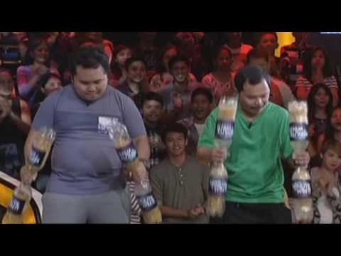 Baby Rattle | Minute To Win It - Last Man Standing