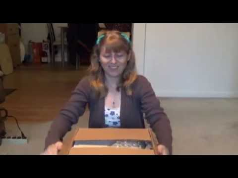 Unboxing Video: Receiving My Hardbacks!
