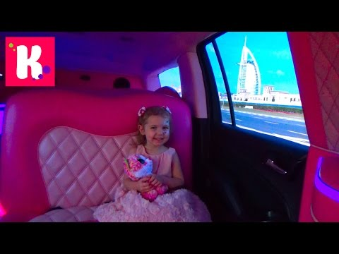День Рождения Кати в Дубаи / Катаемся на розовом лимузине / Парк Бабочек / Dubai Miracle Garden