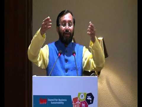 Shri Prakash Javadekar addresses National Seminar Delhi to Paris-Corporate vision on Climate Change