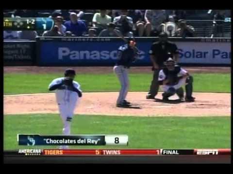 Asi fue el espectacular Juego Perfecto de el -Rey- Felix Hernandez Mariners vs Tampa 15 08 2012