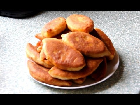 Легкие пирожки на кефире (без дрожжей)