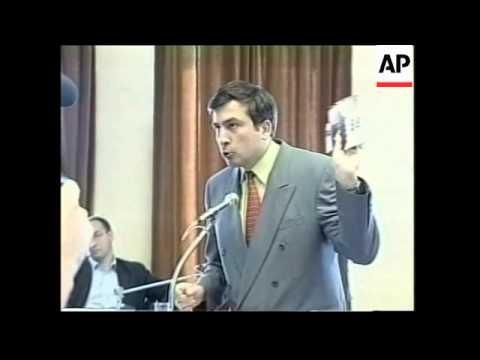 Profile of presidential candidate Mikhail Saakashvili