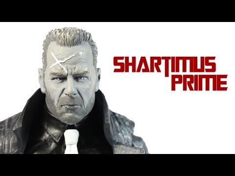 Sin City Select Hartigan Bruce Willis Movie Action Figure Review