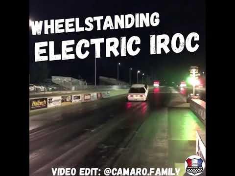 Wheelstanding Electric IROC Z28