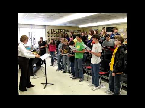 Memorial Park Middle School choirs