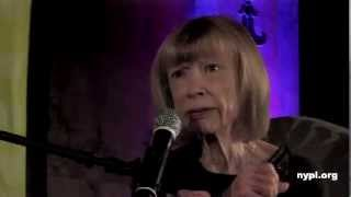 Joan Didion in conversation with Sloane Crosley