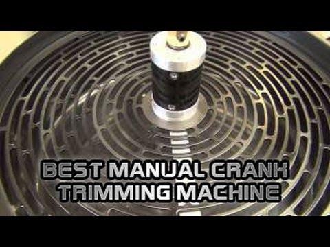 TrimPro Unplugged - New Trim Pro Hand Crank Manual Trimmer Best Manual Crank Trimming Machine Buds