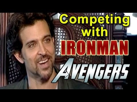 Krrish 3 Official | Hrithik Roshan talks about competing with Avengers, Ironman & Man Of Steel