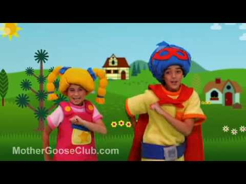 Rig a Jig Jig (SD) - Mother Goose Club Songs for Children