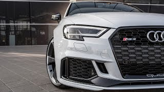 HOTTEST HATCH? - The 400hp 2018 AUDI RS3 SPORTBACK (5cyl,Turbo) - Black optics (+0-270kmh)