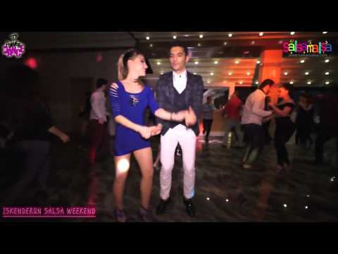 Yunus Emre - Burçin Beril Social Salsa - Iskenderun Salsa Weekend