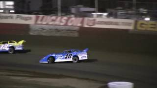 Late Model Feature   Doug Horton Duels With Kyle Bronson  EBRP  42217