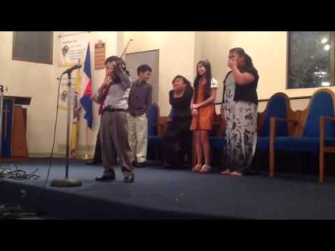 Student From The San Francisco Adventist School Playing the - 12/29/2012