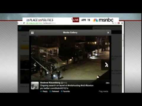 One Boston Marathon bombings suspect killed and is reported dead  Eye witness describes shoot out