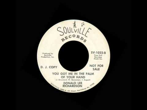 Donald Lee Richardson - You Got Me In The Palm Of Your Hand