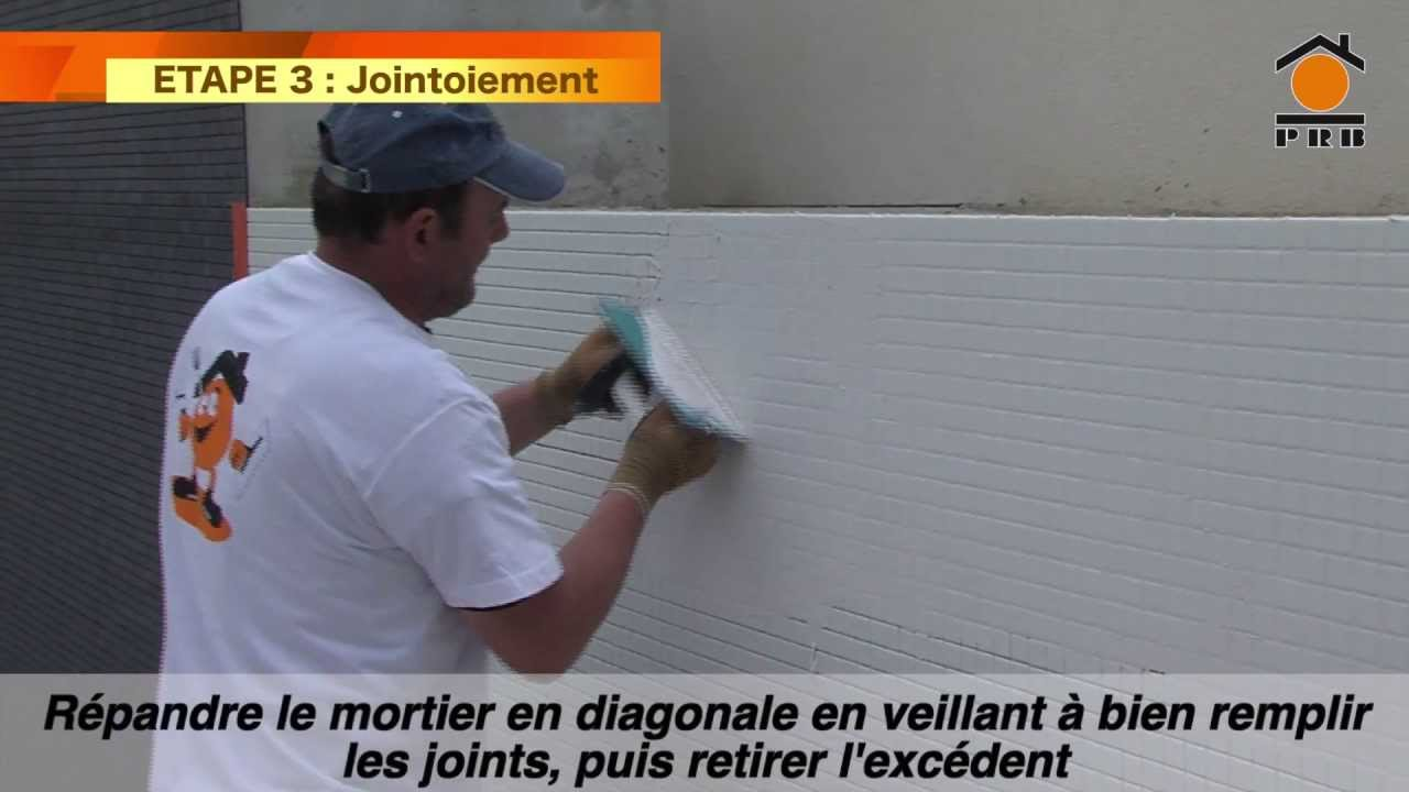 PRB - Colle et joint Epoxy / Joint Epoxy - YouTube