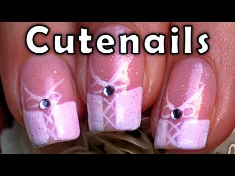 Wedding corset nails