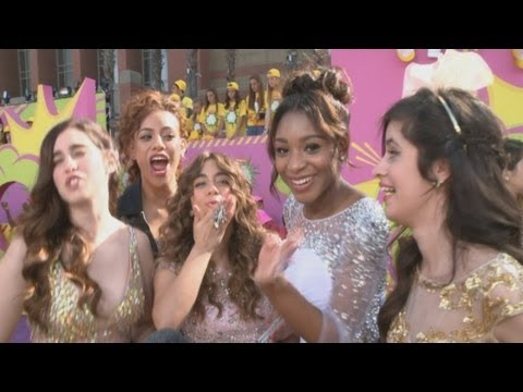 Kids Choice Awards 2013: Fifth Harmony OBSESS over One Direction at the Kids' Choice Awards!