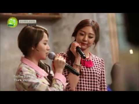 Ladies' Code Sojung & Rise - I'm Fine Thank You 140220 video