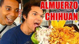 Almuerzo Peruano VIRAL Chihuan con Dan Jackson - Jose angel en Peru