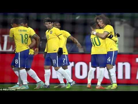 Austria vs Brazil 1-2 All Goals & Highlights HD ( Friendly Match ) 18/11/2014