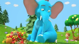 The Giant Elephant Song | Kindergarten Music & Nursery Rhymes | Cartoons for Kids | Little Treehouse