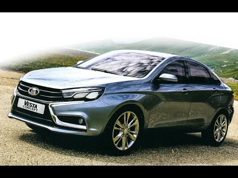 New Lada Vesta Sedan and XRay Hatch Concepts Photos