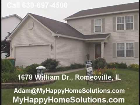 Romeoville For Rent in Lakewood Falls, 3 BR, 2.5 bath with full basement