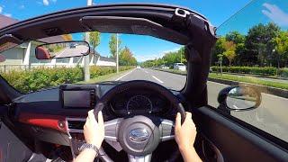 【Test Drive】2016 DAIHATSU Copen Cero - POV City Drive