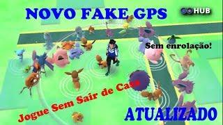Fake GPS Funcionando na nova atualização do Pokémon Go!!!