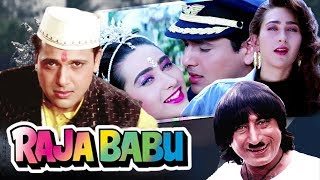 Raju Babu Full Movie in HD | Govinda Hindi Comedy Movie | Karisma Kapoor | Bollywood Comedy Movie  from Ultra Movie Parlour