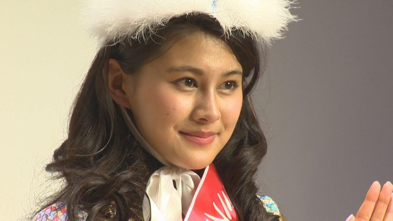 ミス日本は慶大生松野さん