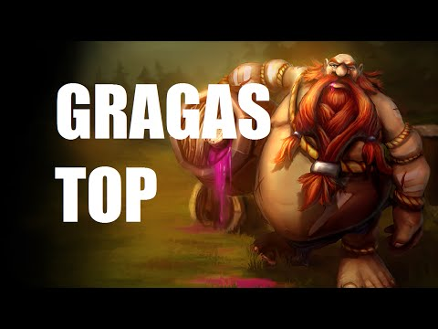 League of Legends Ranked - Gragas Top - Full Game Commentary
