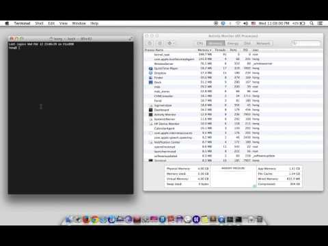 Clear Memory Used and File Cache on MAC OS Mavericks X 10 9 2 using purge command