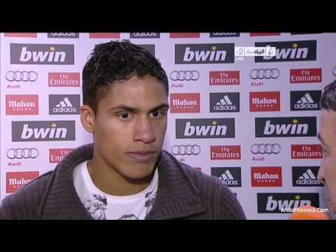 [Real Madrid vs Barcelona] 2012 - Raphael Varane Interview - JSC Sports