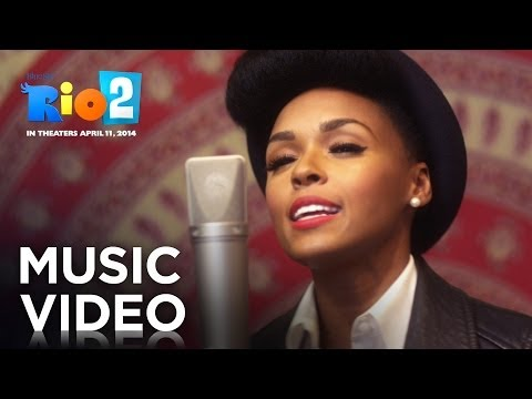 """Sing along with Janelle Monáe and the birds of RIO 2 in the """"What is Love"""" music video Get the Soundtack - http://smarturl.it/rio2soundtrack RIO 2 - In theaters April 11, 2014! The entire..."""