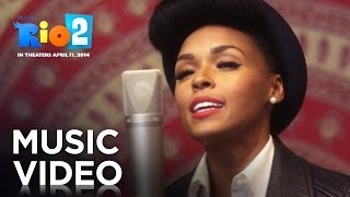 "Rio 2 | Janelle Monáe ""What Is Love"" Music Video 