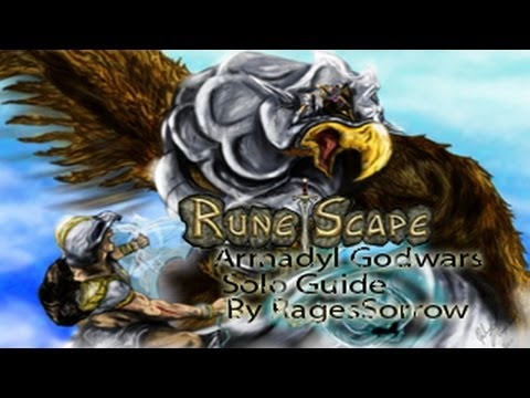 Runescape| Updated Armadyl Godwars Dungeon Solo Guide For The EoC W/ Range By RagesSorrow