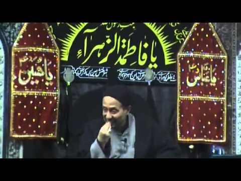 Part12 Jan 2012 Majlis Chehellum Imam Hussain H I Jaan Ali Shah Kazmi Brussels Belgium Urdu video