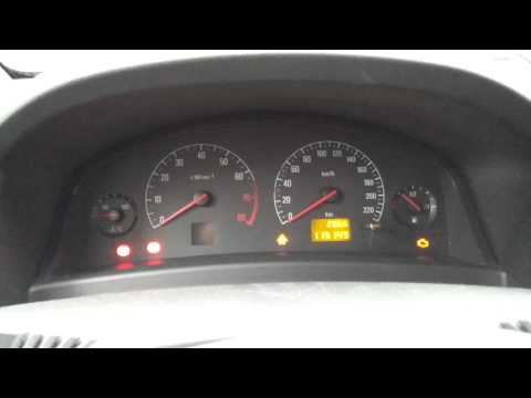 Opel Vectra C -02 wont start. errors and blinking lights