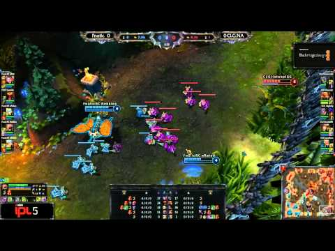 Team Fnatic vs CLG.NA - Game 1 - IPL 5