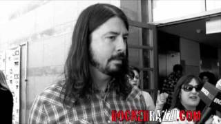 Foo Fighters/ NIRVANA Dave Grohl interview with Jared Sagal of Rockerrazzi