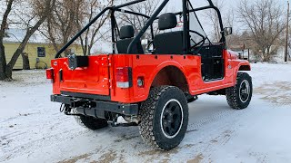 Mahindra ROXOR Strong Made Hitch Receiver and Spare Tire Carrier UNBOXING