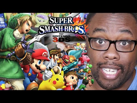 SUPER SMASH BROS 3DS DEMO (First Impressions) : Black Nerd